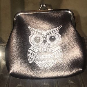 Cute faux leather coin purse
